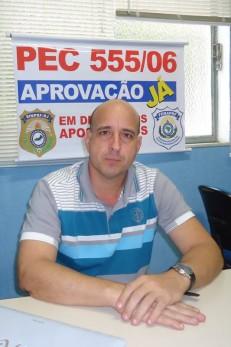 Para Jesus Caamaño, diretor jurídico do SinPRF-RJ, necessidade constante de pessoal dificultava concessão das licenças Foto: Djalma Oliveira